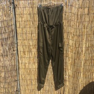 NWT Urban Outfitters Olive Green Jumpsuit - Med